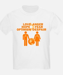 Love Hope Optimism T-Shirt