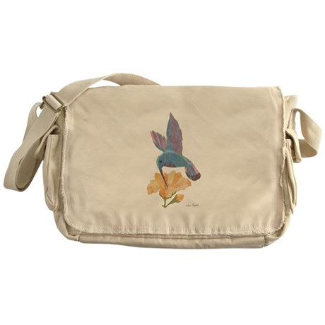 Hummingbird Messenger Bag/khaki
