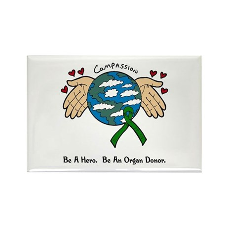 Donor World II Rectangle Magnet (10 pack)