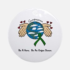 Donor World II Ornament (Round)