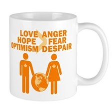 Love Hope Optimism Mug