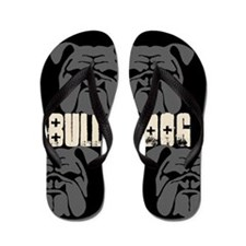BULLIES (black/grey) Flip Flops