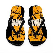 BULLIES (black/orange) Flip Flops