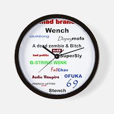 mad brands Wall Clock
