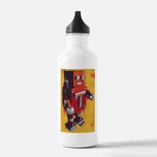 Cute Giant robots Sports Water Bottle
