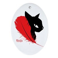 Birds Of A Feather Ornament (Oval)