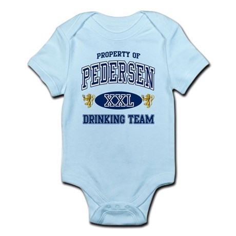 Pedersen Norwegian Drinking Team Infant Bodysuit