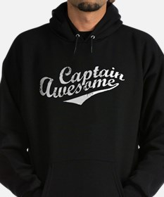 Captain Awesome Hoodie (dark)
