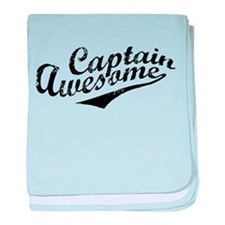 Captain Awesome baby blanket