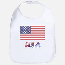 USA (flag) Bib