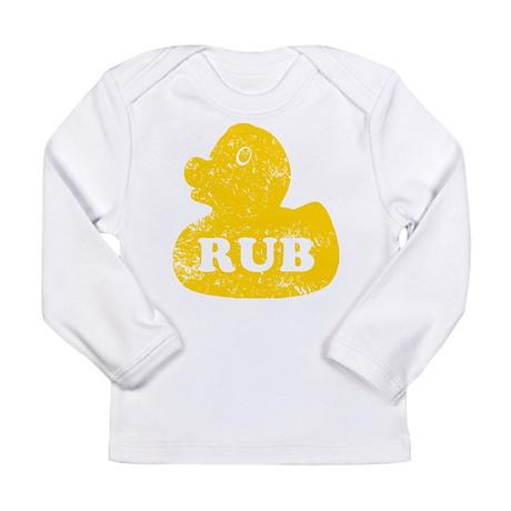 Duck N Rub Long Sleeve Infant T-Shirt