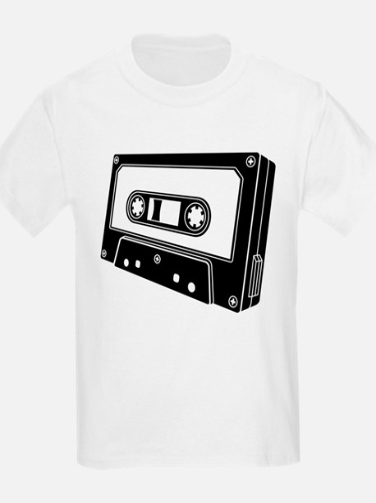 Black & White Cassette Tape T-Shirt