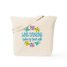 Line Dancing Smiles Tote Bag