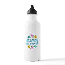 Line Dancing Smiles Water Bottle