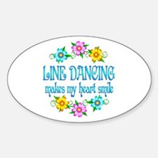 Line Dancing Smiles Decal