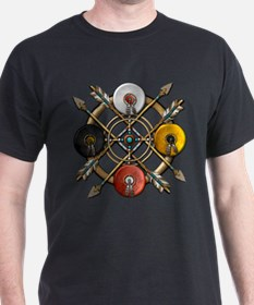 Native Medicine Wheel Mandala T-Shirt