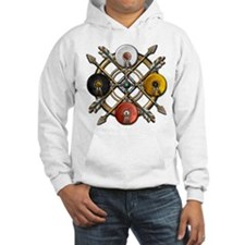 Native Medicine Wheel Mandala Hoodie