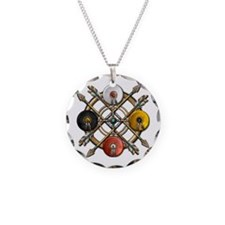 Native Medicine Wheel Mandala Necklace