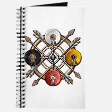 Native Medicine Wheel Mandala Journal