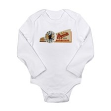 It's Time for Bryant's Long Sleeve Infant Bodysuit