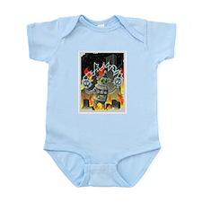 Funny Giant robot Infant Bodysuit