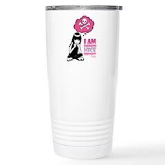 Nice Thoughts - Pink Travel Mug