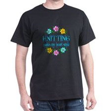 Knitting Smiles T-Shirt