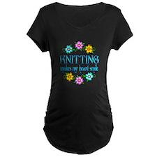 Knitting Smiles T-Shirt