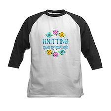 Knitting Smiles Tee