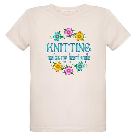 Knitting Smiles Organic Kids T-Shirt
