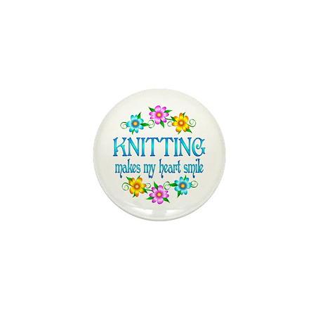 Knitting Smiles Mini Button (100 pack)