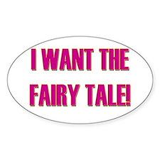 Fairytale - Pretty Woman Oval Decal