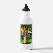 Lahaina Tiki Water Bottle