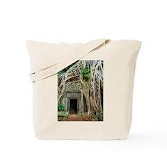 Te Phrom Tree Overgrowth 3 Tote Bag
