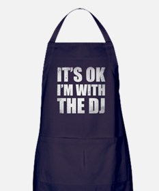 I'm with the DJ Apron (dark)