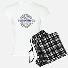 Snowboard Squaw Valley CA Pajamas