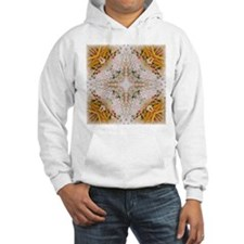 Kaleidoscope Pattern Yarn Hoodie