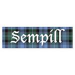 Tartan - Sempill Sticker (Bumper 10 pk)