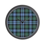 Tartan - Sempill Wall Clock
