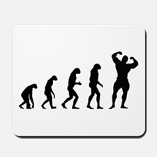 bodybuilder evolution Mousepad