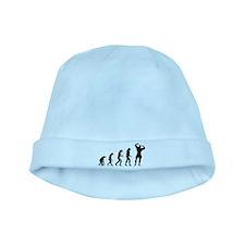 bodybuilder evolution baby hat