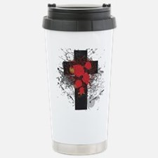 ROSE CROSS Travel Mug