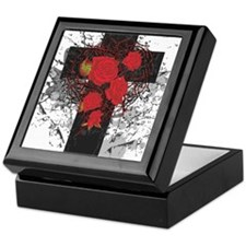 ROSE CROSS Keepsake Box