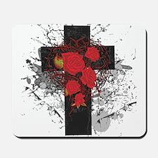 ROSE CROSS Mousepad
