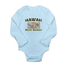 Hawaii State Sheriff Long Sleeve Infant Bodysuit