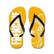 FRENCHIE (orange) Flip Flops
