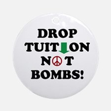 Drop Tuition Ornament (Round)