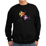 Tropical Fishes Sweatshirt (dark)