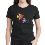 Tropical Fishes Women's Dark T-Shirt