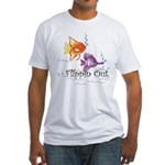 Tropical Fishes Fitted T-Shirt